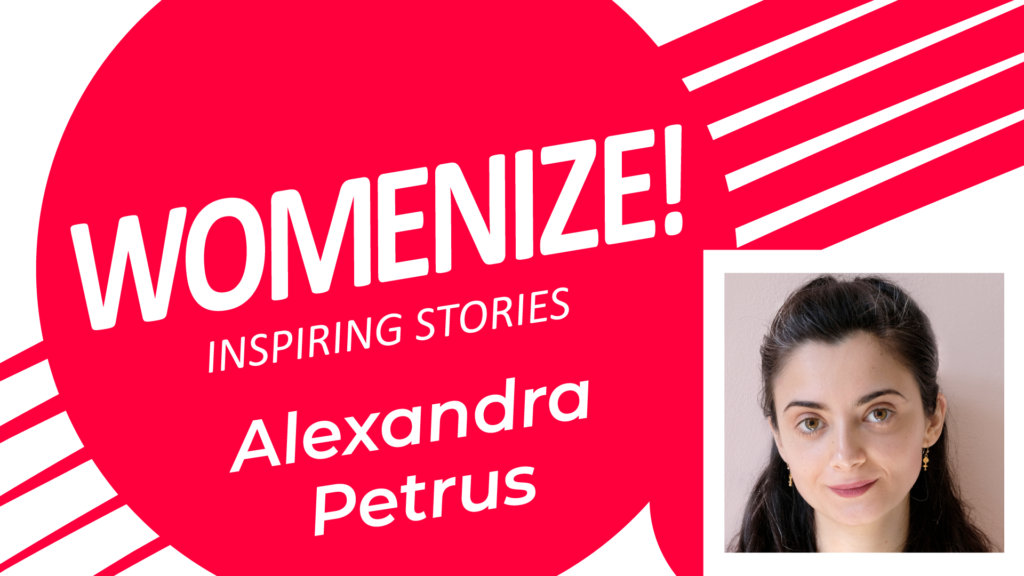 Alexandra Petrus – Womenize! – Inspiring Stories