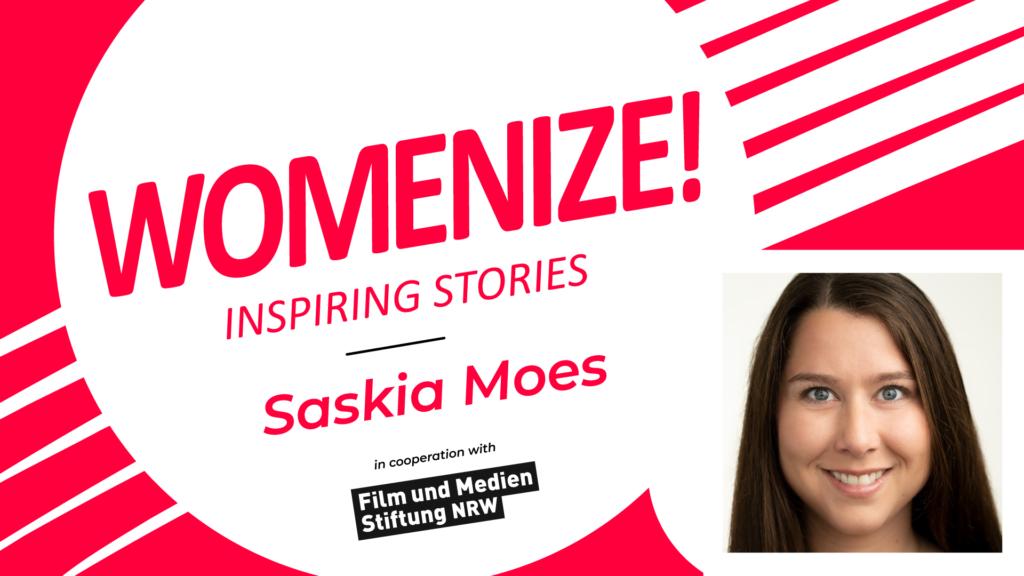 Saskia Moes – Womenize! – Inspiring Stories