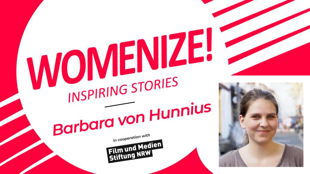 Barbara von Hunnius – Womenize! – Inspiring Stories